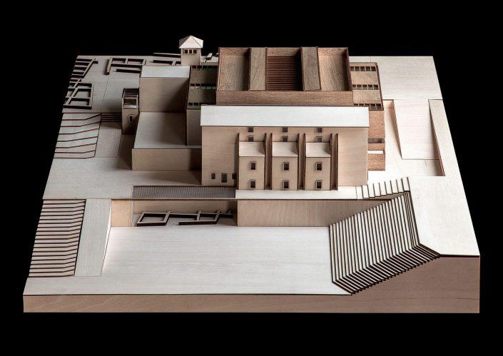 Model Roman art museum