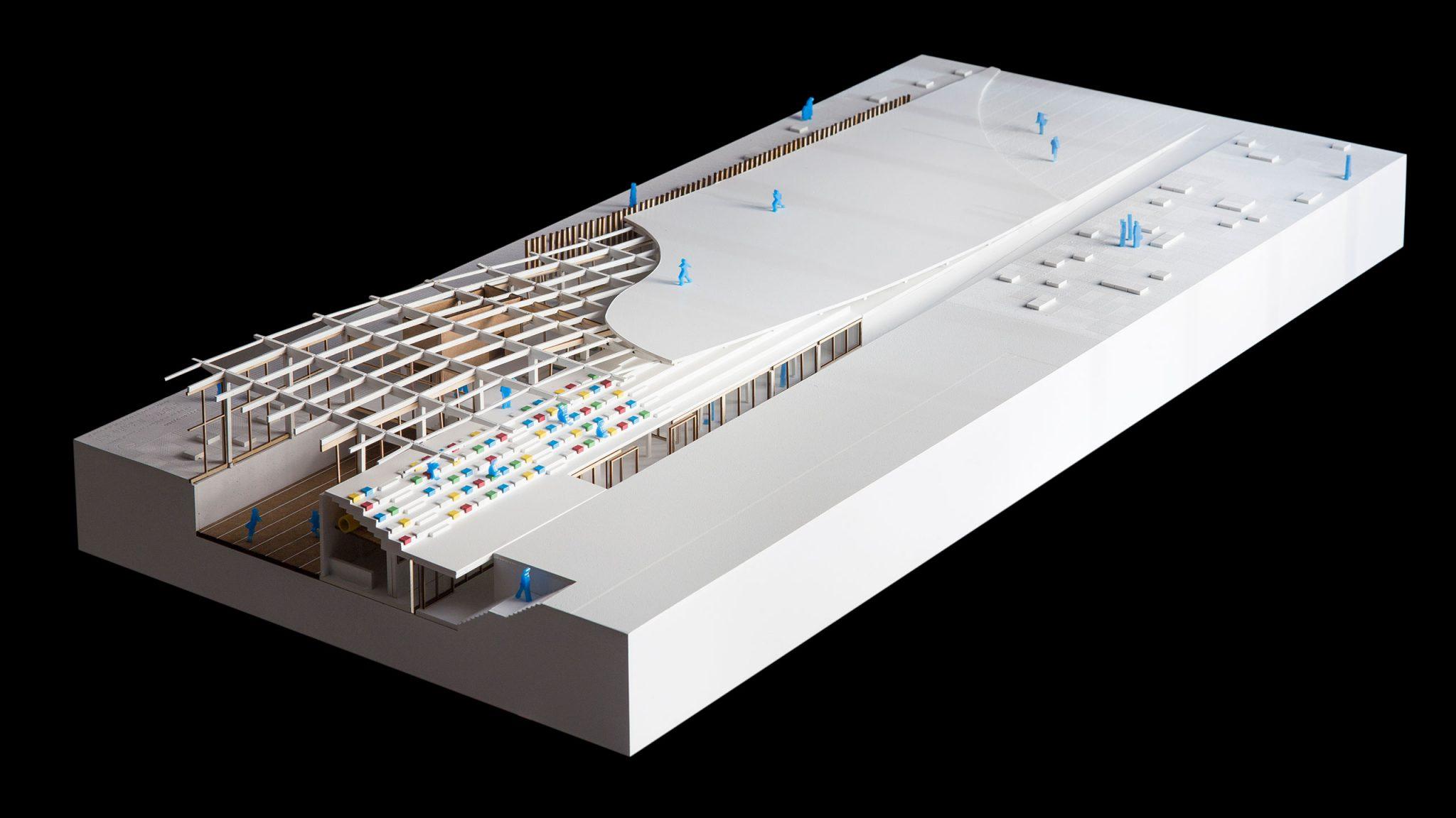 architecture representation urban actuation model architectural model