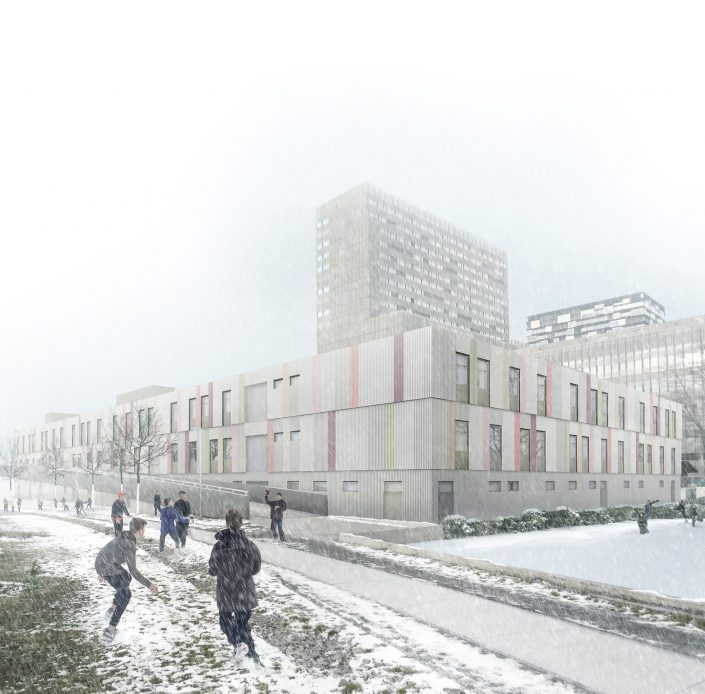 Refugee center in Zurich | NRS insitu