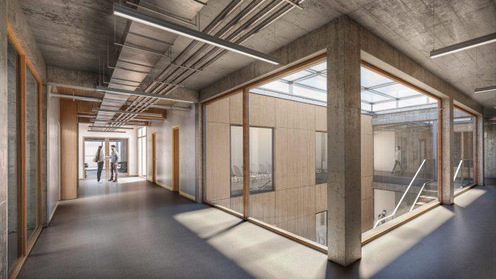 Edificio de oficinas en Basilea | NRS insitu