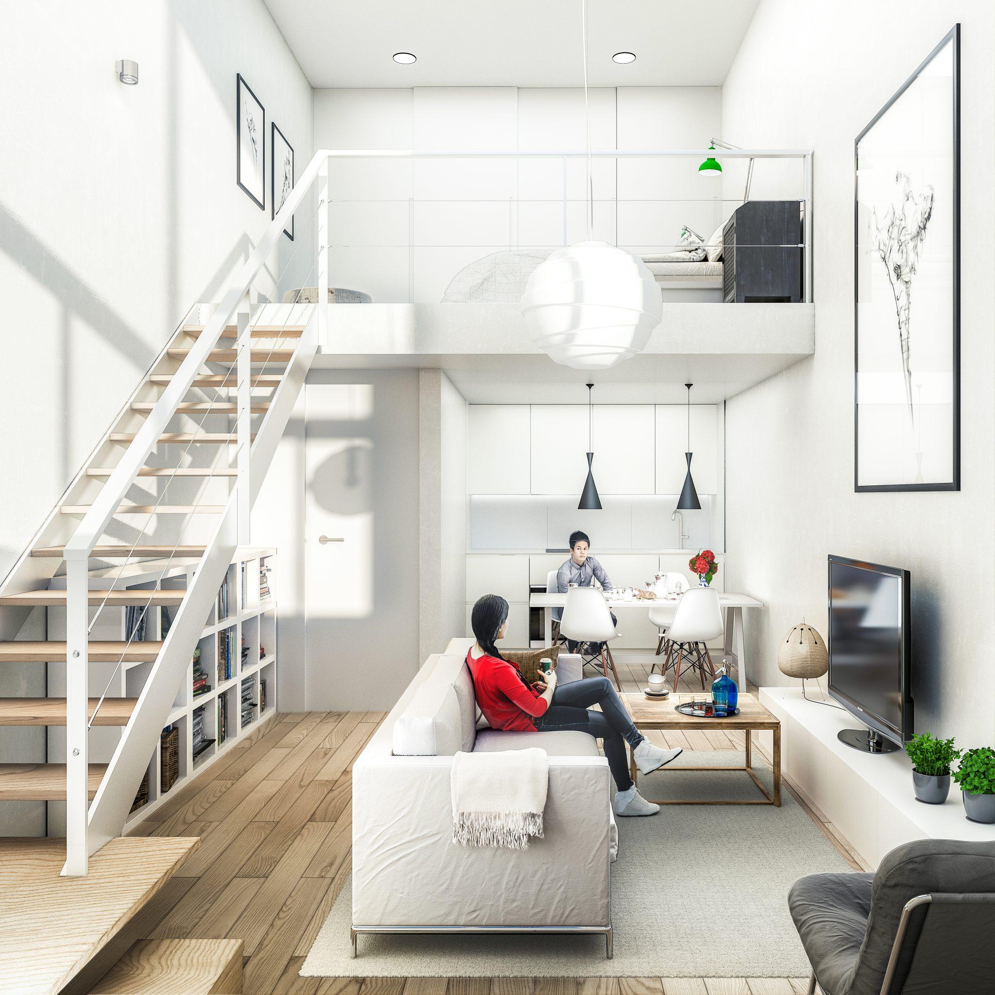 Render Loft Render 3d Interior Design