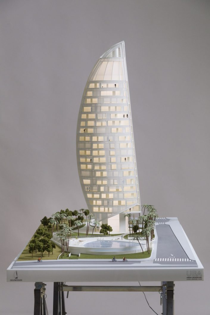 Delfin Tower Model | ACV Architecture | Benidorm