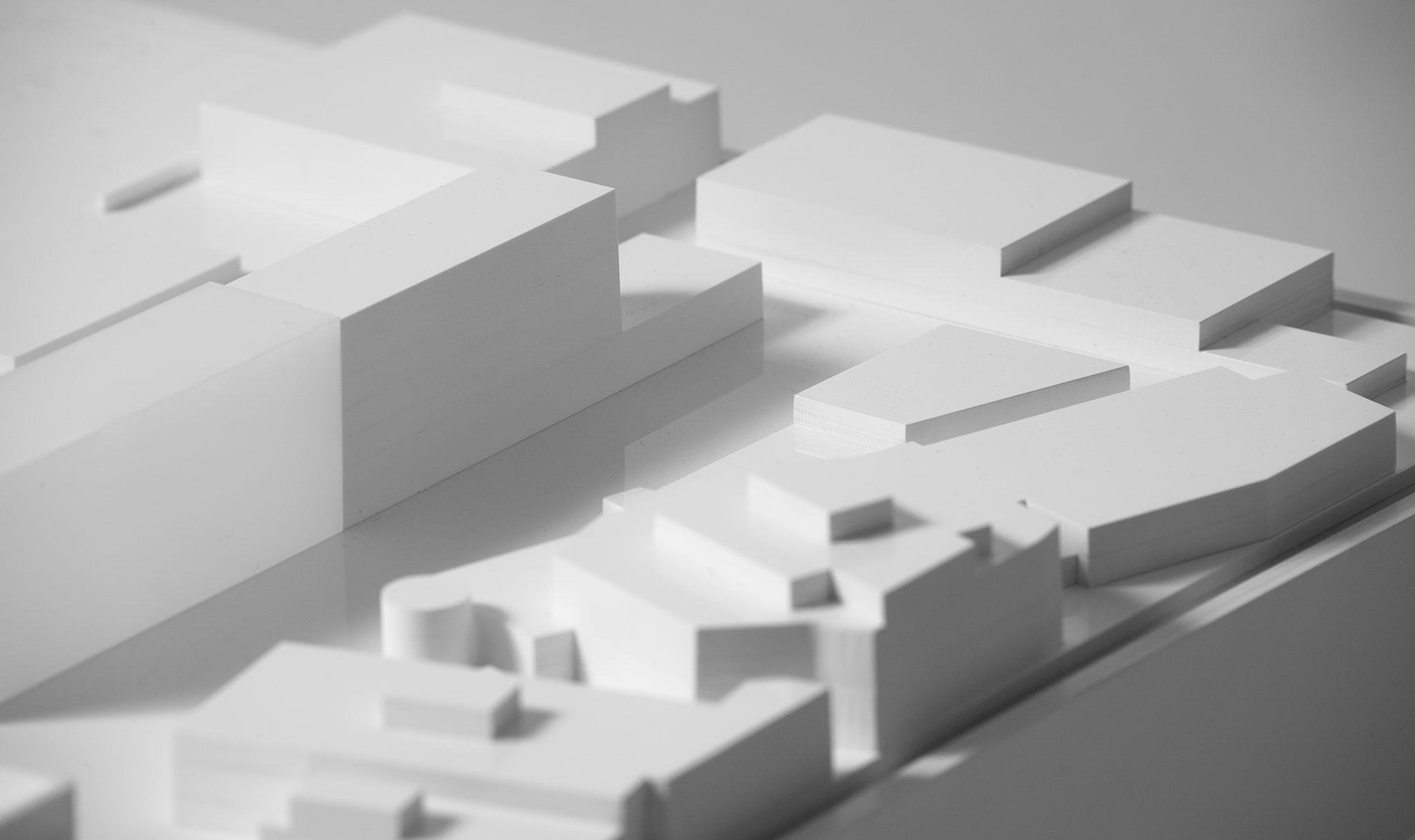 hospital model maqueta